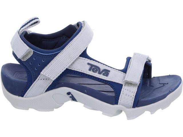 Teva Tanza Sandals Children grey/navy